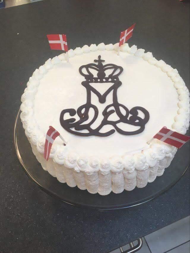 Vi fejrer Dronningen